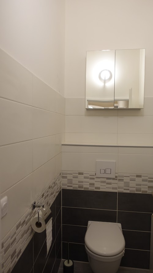WC chambre romantique
