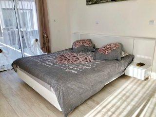 Lit double chambre romantique 1