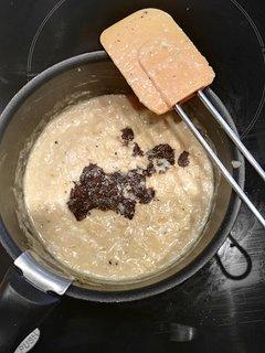 Omellette aux truffes