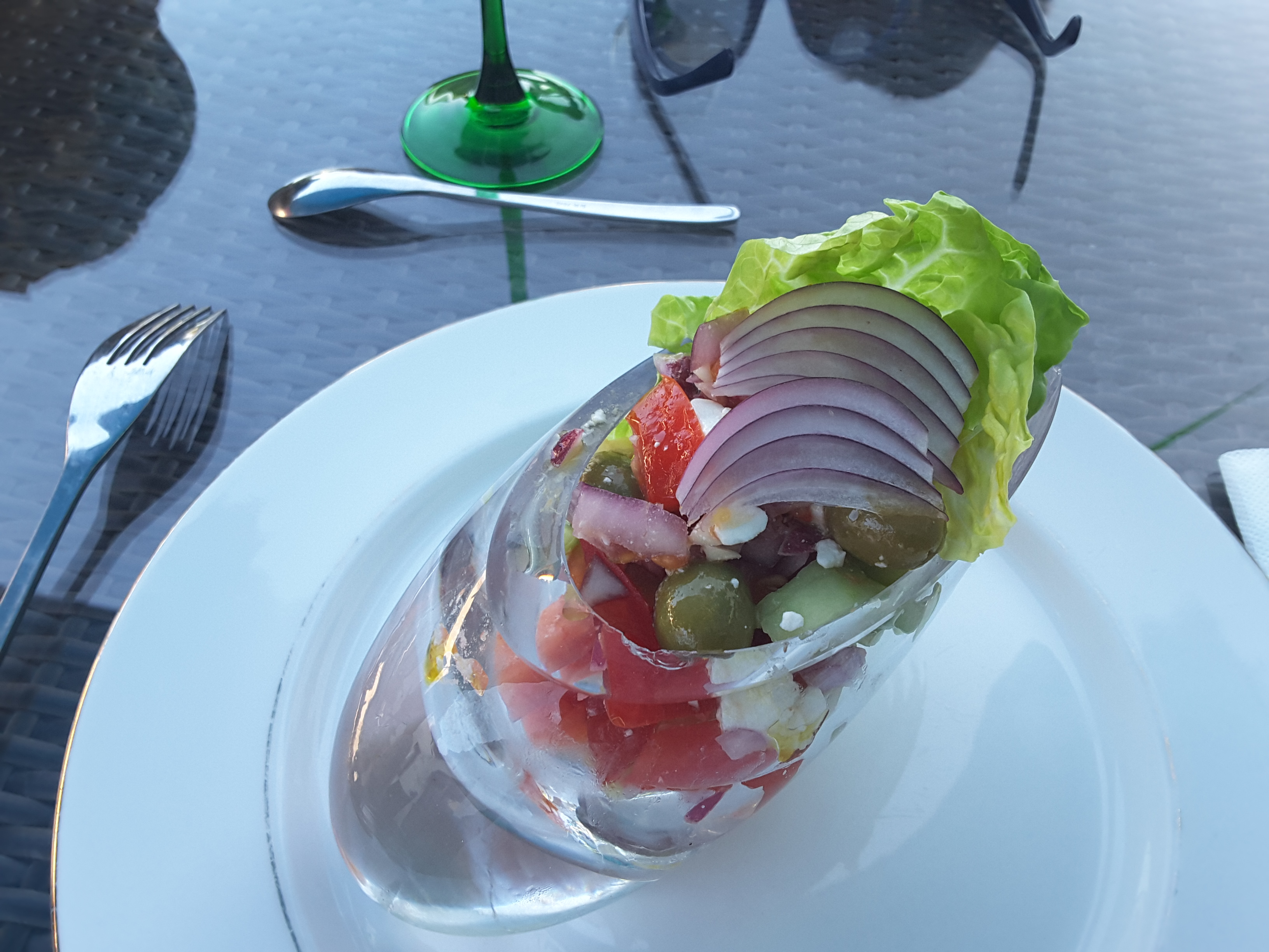 entree salade greque