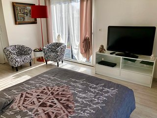 Lit double chambre romantique 2