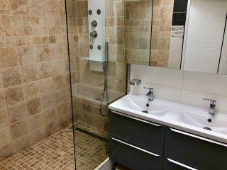 douche chambre romantique